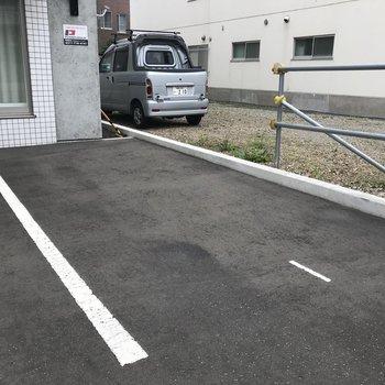 駐車場スペースも!