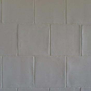 キッチンの壁もこだわり。