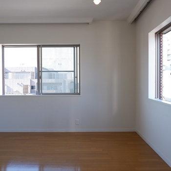 朝日で目覚めたい。※写真は5階の同間取り別部屋のものです