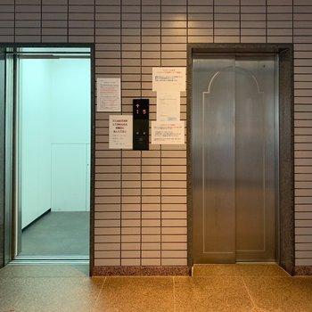 エレベーター2基あります