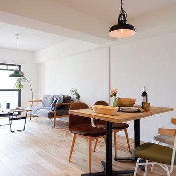 【イメージ】広いので、家具を選ぶ楽しみが!