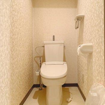【工事前】トイレも新しいものに!