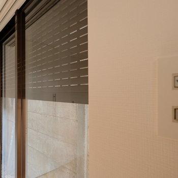1階は自動シャッターで手間いらずで防犯対策!