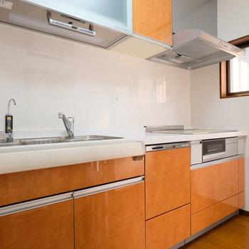 浄水器、食洗機もついた高性能キッチン
