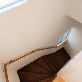 さて二階に行きましょう!
