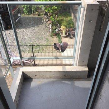 ガラスがきれい※写真は2階の反転間取り別部屋のものです