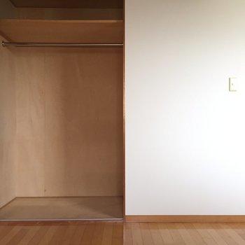 収納も十分な大きさ。※写真は2階の反転間取り別部屋のものです