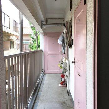 どこにでもいけちゃいそうなドア。