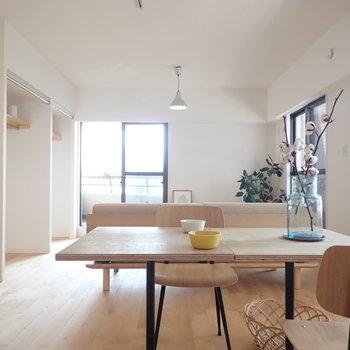 【家具イメージ】開放的なワンルームって一度は憧れますよね〜〜〜