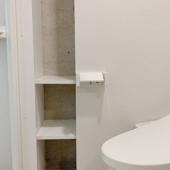 トイレの備品、お風呂用品どちらをいれても◎