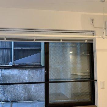【LDK】洗濯物はこちらに干して下さいね※写真は2階の同間取り別部屋のものです
