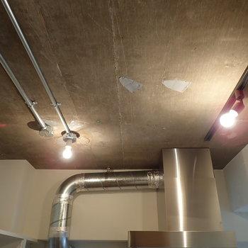 【LDK】むき出しの天井もカッコいいなぁ。