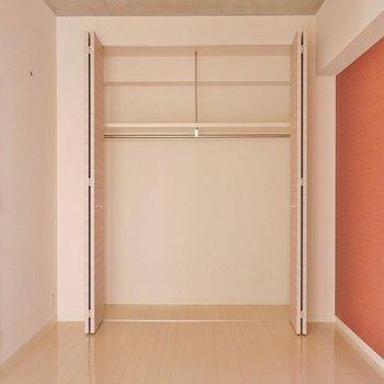 開けるとこんな感じ。※写真は同タイプ別部屋。