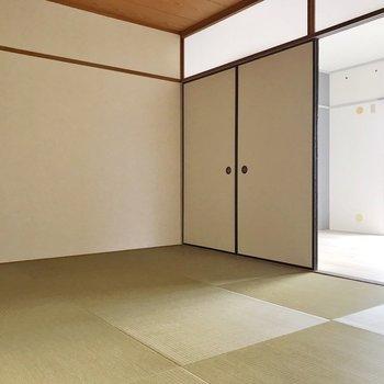 【和室】琉球畳がお洒落〜!