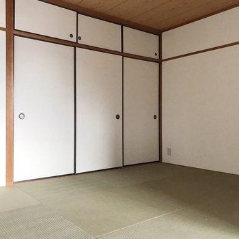 【和室】ごろーんと寝そべりたくなる和室。日本人の性ですね。