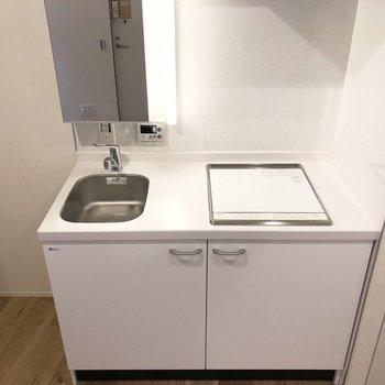 キッチン×洗面台のハイブリッド。※写真は前回募集時のものです