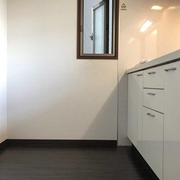 広々キッチンです。