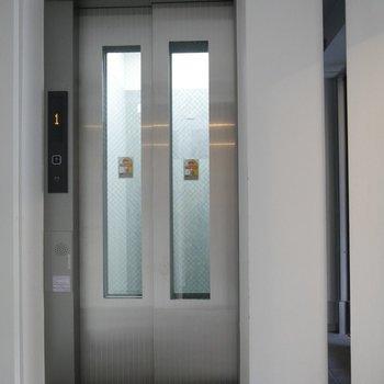 エレベーターがついてて嬉しい◎