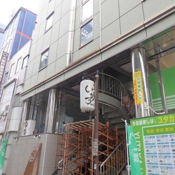 3階より上が居住スペースになります。