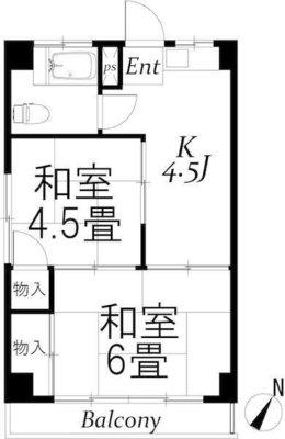板橋カイセイ第1ビル の間取り