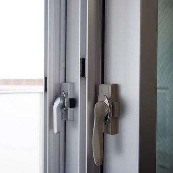 二重窓で防音対策。