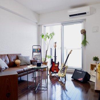 空調も効いて快適な空間です。※家具はサンプルです