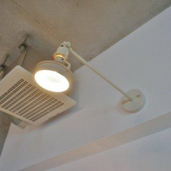 お部屋の照明もスタイリッシュに。