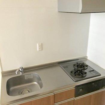 作業スペースしっかり!洗い物はこまめにね。