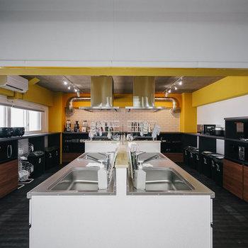 大きなキッチン、設備も充実◎※写真は前回募集時のものです