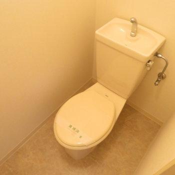 トイレはしっかり分かれているのが嬉しいですよね!