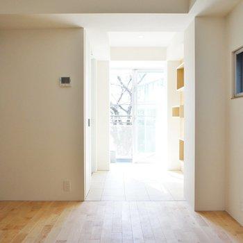 お部屋作りは玄関口から