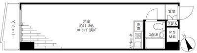 ライオンズマンション横浜駅東 の間取り