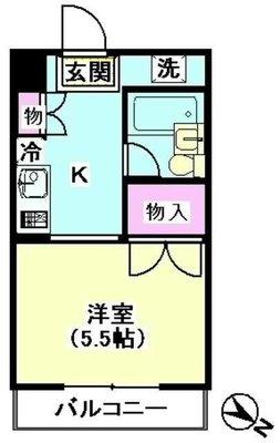 HOUSE・K の間取り