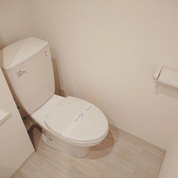 トイレと脱衣所は同室です。