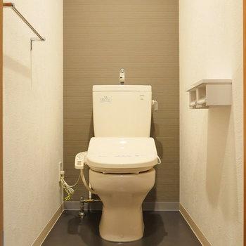 トイレは個室タイプです。