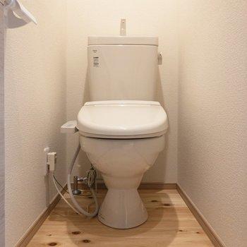 トイレは温水洗浄付き※写真は前回募集時のものです