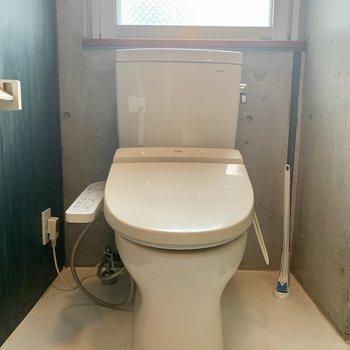 トイレはウォシュレット付きですよ。