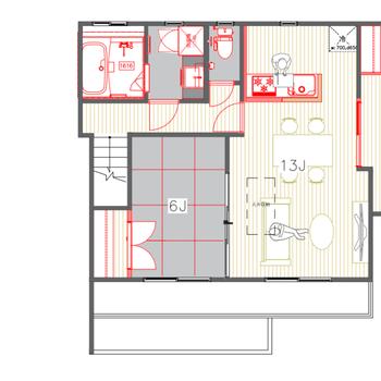 それぞれのお部屋が広めなので、いろんな使い方できそう!