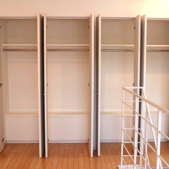 【上階】収納は4ドア