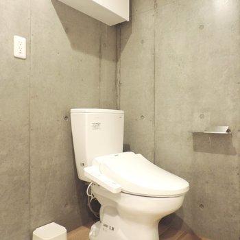 トイレさえもかっこいい感じです
