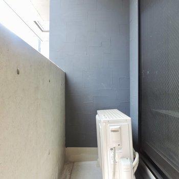 奥の壁がまたおしゃれ