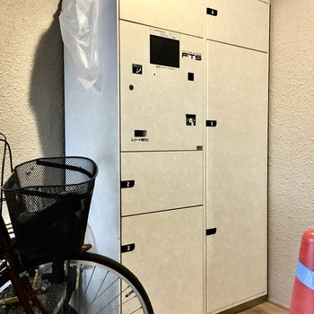 共用部】頼もしい宅配BOX付き◎