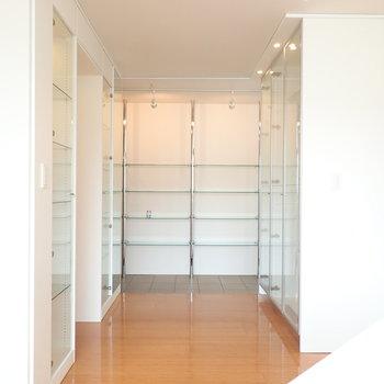 お部屋の収納は先ほどのものにとどまらず、、、