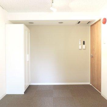 【防音室】木の扉がかわいいですね※写真は3階同間取り別部屋のものです
