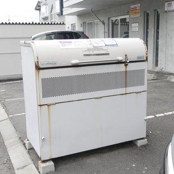 専用ゴミ置き場もありますよ〜!