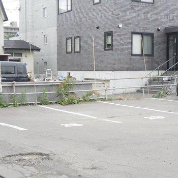 駐車場もありますよー!