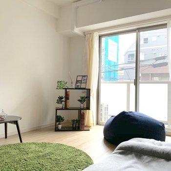 緑が映えるお部屋~ ※写真は2階の同間取り別部屋のものです