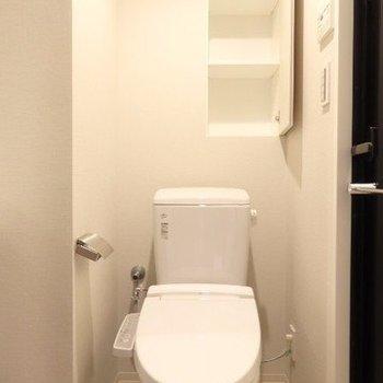 ココに収納あるといいよね。※写真は7階の同間取り別部屋のものです