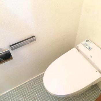 トイレ。ペーパーは外に置くのが良さそう。※写真は前回募集時のものです