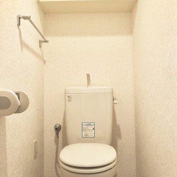 トイレはきちんと清潔感があります。